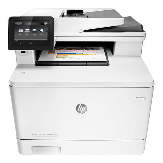 Imprimante multifonction HP LaserJet Pro M477fnw