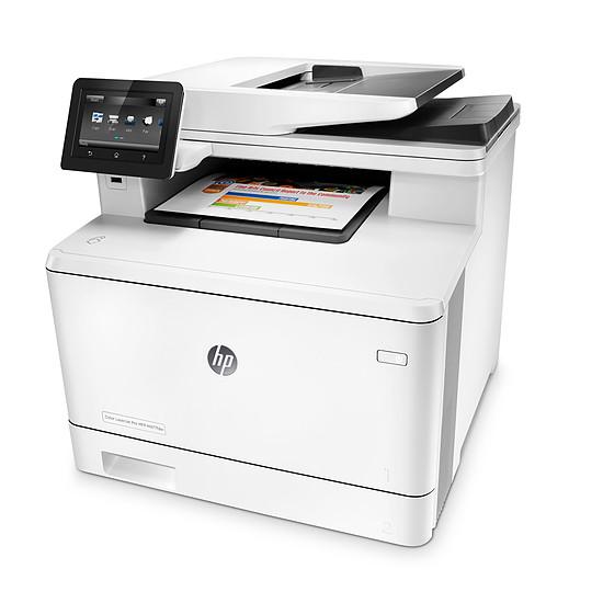 Imprimante multifonction HP LaserJet Pro M477fnw - Autre vue