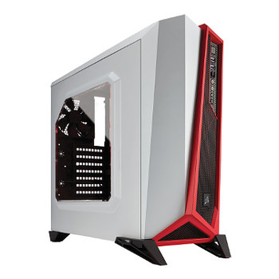 Boîtier PC Corsair Carbide SPEC ALPHA White / Red