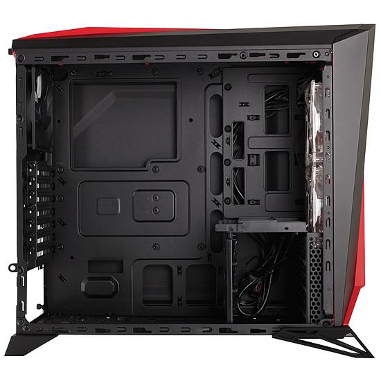 Boîtier PC Corsair Carbide SPEC ALPHA Black / Red - Autre vue
