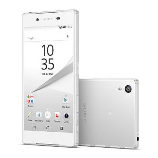 Smartphone et téléphone mobile Sony Mobile Xperia Z5 (blanc)