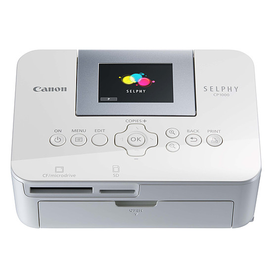 Imprimante jet d'encre Canon Selphy CP-1000 - Autre vue
