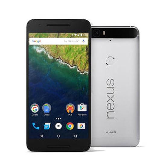 Smartphone et téléphone mobile Huawei Nexus 6P (Acier) - 32 Go