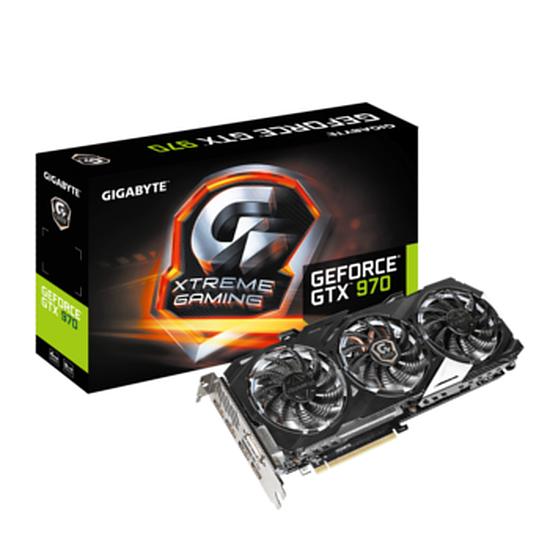 Carte graphique Gigabyte GeForce GTX 970 XTREME Gaming - 4 Go