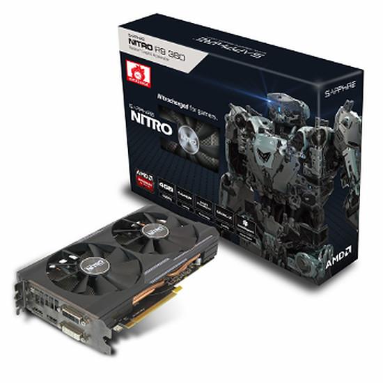 Carte graphique Sapphire Radeon R9 380 Nitro Dual-X OC - 4 Go