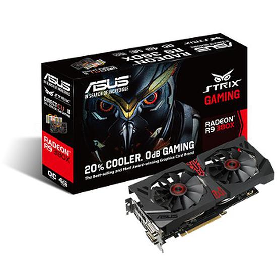 Carte graphique Asus Radeon R9 380X STRIX OC Gaming - 4 Go