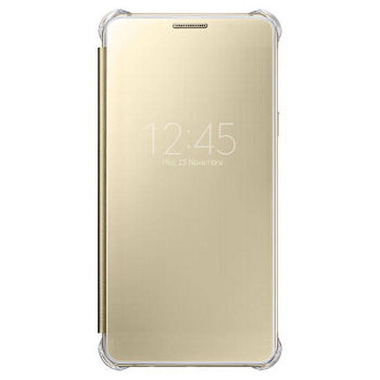 Coque et housse Samsung Etui Clear View Cover (or) - Galaxy A5 2016