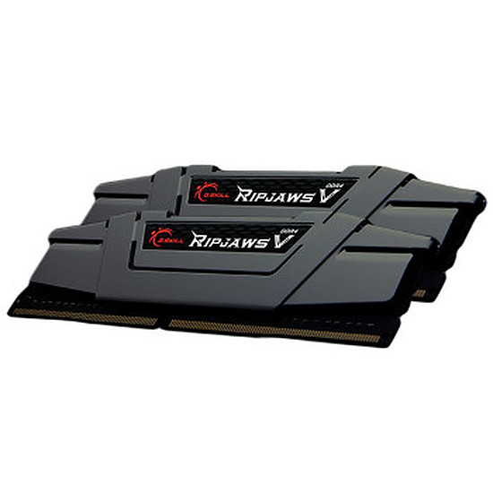 Mémoire G.Skill Ripjaws V Gris DDR4 2 x 8 Go 2800 MHz CAS 16
