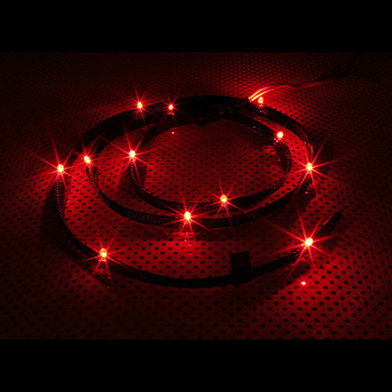 Filtre anti-poussière NZXT Câble 24 LED - 2 m Rouge