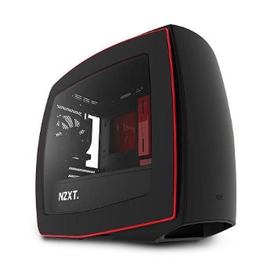 Boîtier PC NZXT Manta Mat Noir / Rouge Fenêtre
