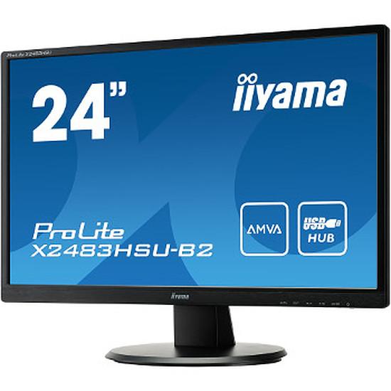 """Écran PC Iiyama ProLite X2483HSU-B2 - 24"""""""