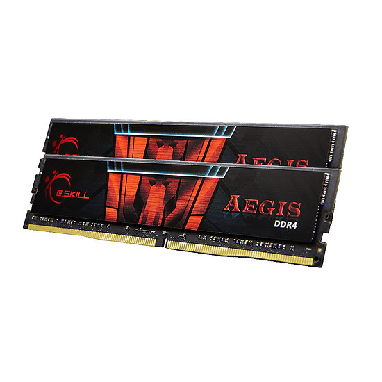 Mémoire G.Skill Aegis DDR4 2 x 8 Go 2666 MHz CAS 19