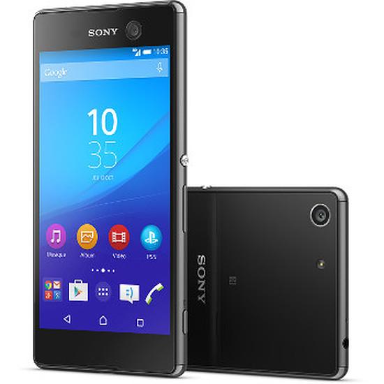 Smartphone et téléphone mobile Sony Mobile Xperia M5 Dual (noir)