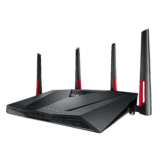 Routeur et modem Asus RT-AC88U - Routeur WiFi AC3100 double bande - Autre vue
