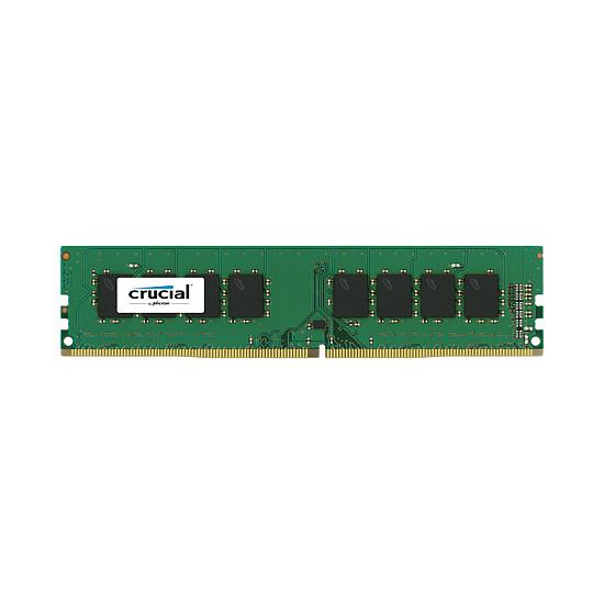 Mémoire Crucial 4 Go (1 x 4 Go) DDR4 2400 MHz CL17 SR