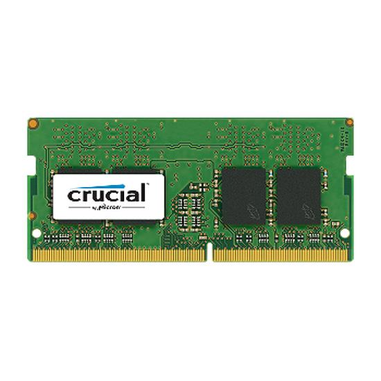 Mémoire Crucial SO-DIMM DDR4 4 Go 2133 MHz CAS 15
