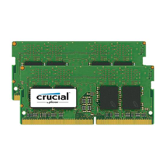 Mémoire Crucial SO-DIMM DDR4 2 x 4 Go 2133 MHz CAS 15