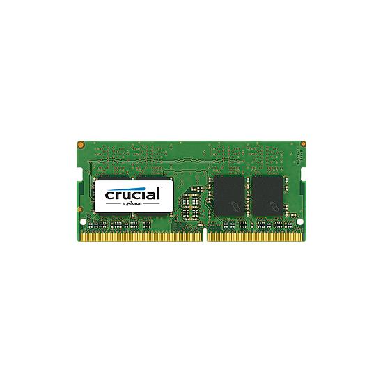 Mémoire Crucial 16 Go (1 x 16 Go) DDR4 2400 MHz CL17 DR SO-DIMM