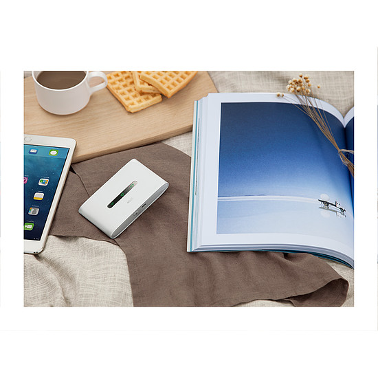 Routeur et modem TP-Link M7300 - Point d'accès 3G/4G Wifi N150  - Autre vue