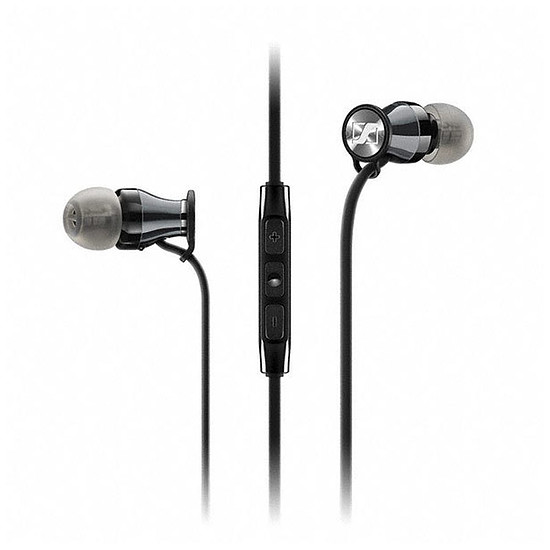 Casque Audio Sennheiser Momentum In-Ear G Black Chrome (Android) - Ecouteurs