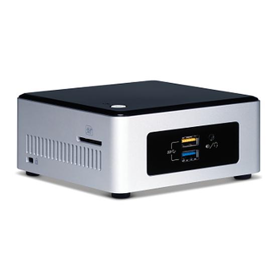 """Barebone Intel NUC Core i3 Skylake NUC6I3SYH - Baie 2,5"""" HDD"""