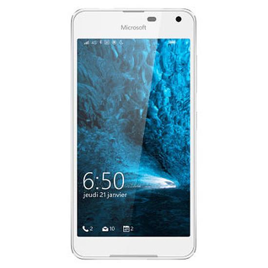 Smartphone et téléphone mobile Microsoft Lumia 650 (blanc)