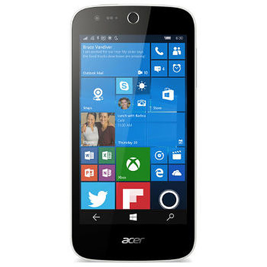 Smartphone et téléphone mobile Acer Liquid M330 (blanc)