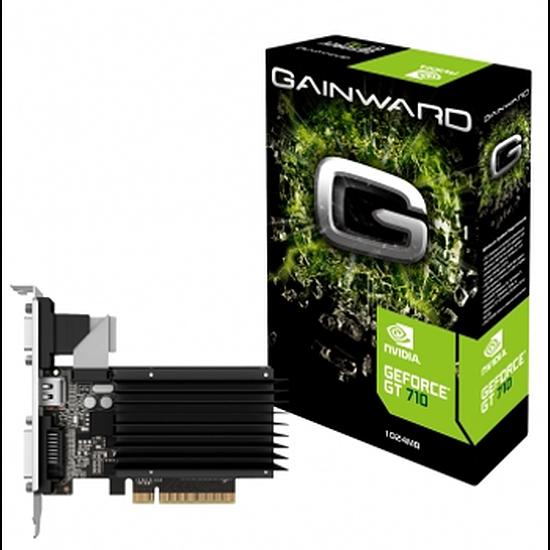 Carte graphique Gainward GeForce GT 710 Silent FX - 1 Go
