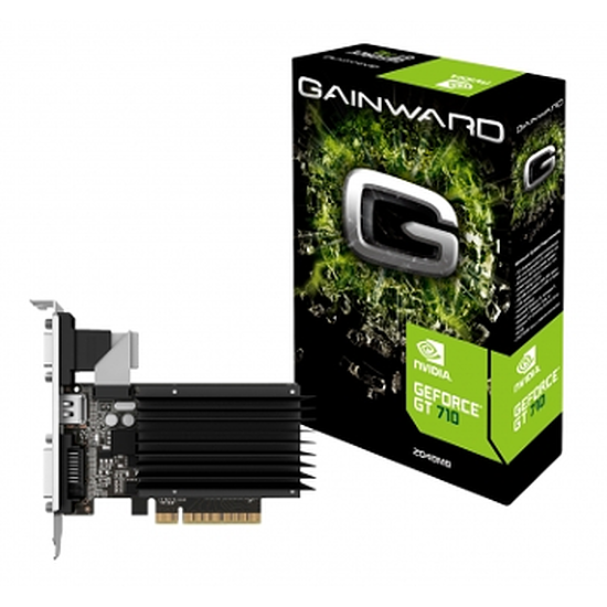 Carte graphique Gainward GeForce GT 710 Silent FX - 2 Go