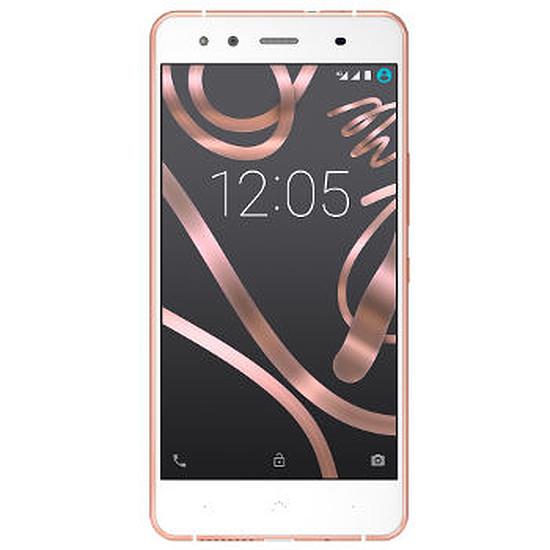 Smartphone et téléphone mobile bq Aquaris X5 - 16Go - 2Go RAM (blanc/or)