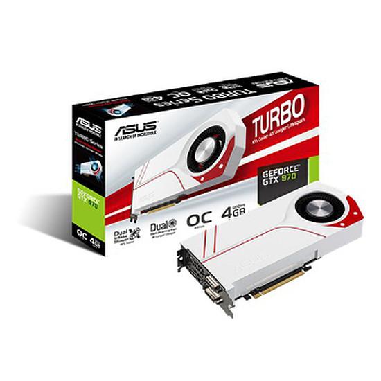 Carte graphique Asus GeForce GTX 970 Turbo OC - 4 Go
