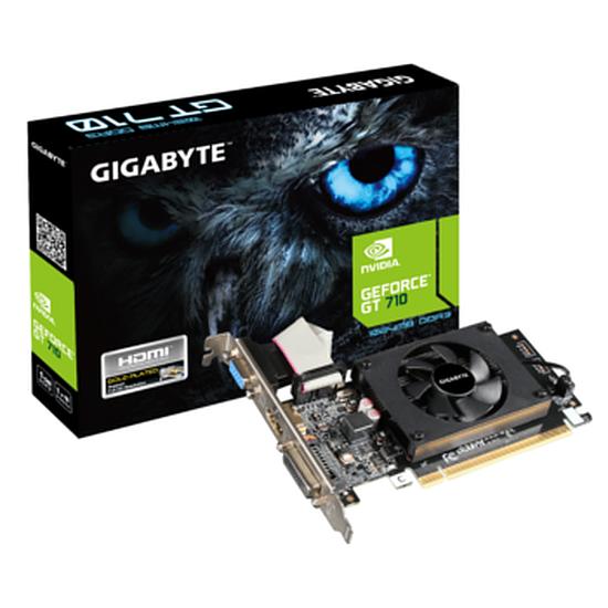Carte graphique Gigabyte GeForce GT 710 - 1 Go