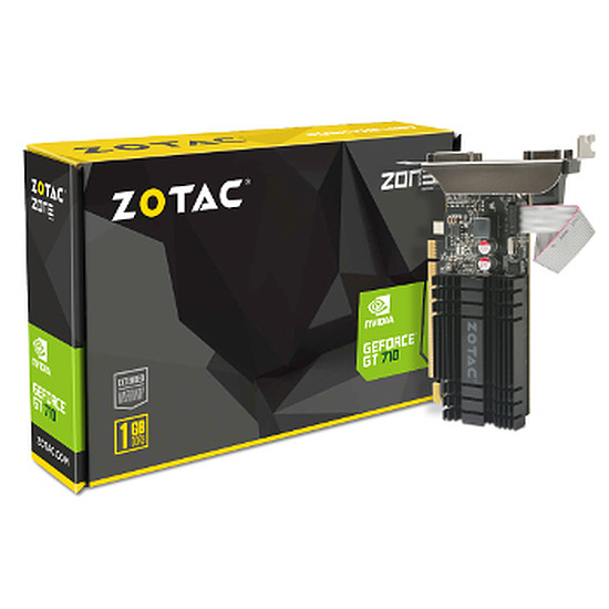Carte graphique Zotac GeForce GT 710 - 1 Go