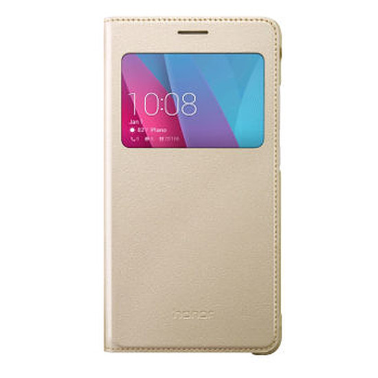 Coque et housse Honor Etui View flip cover (or) - Honor 5X