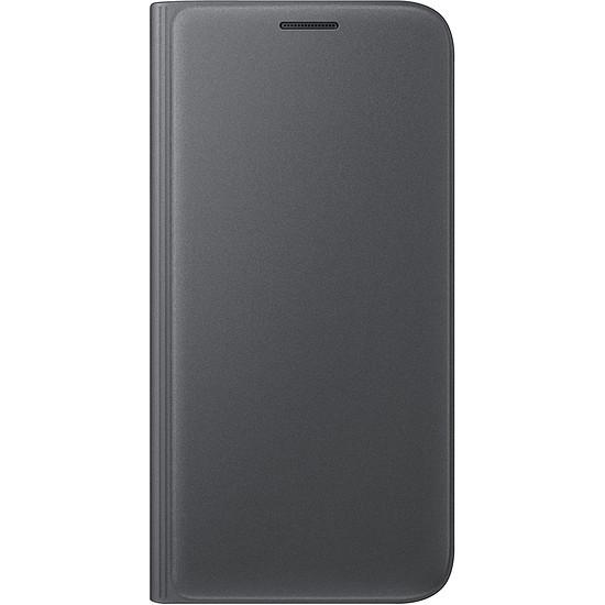 Coque et housse Samsung Etui Wallet Cover (noir) - Samsung Galaxy S7