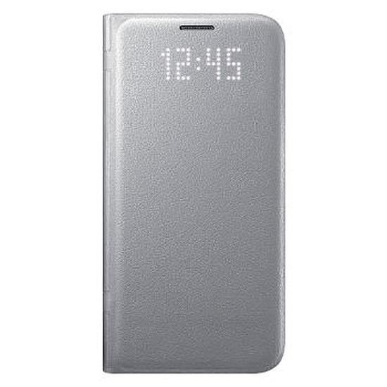 Coque et housse Samsung Etui LED View Cover (argent) - Samsung Galaxy S7