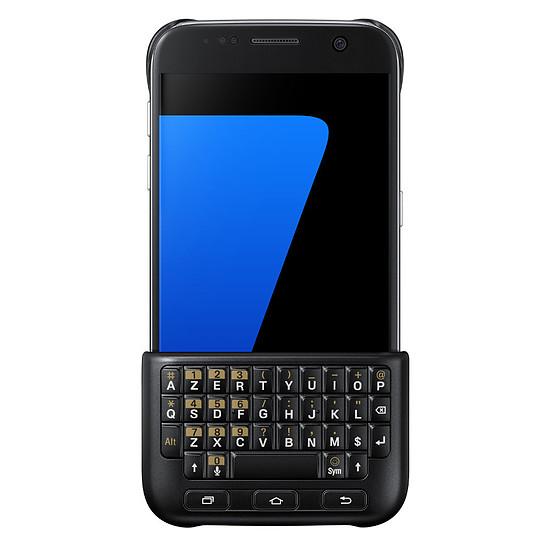 Coque et housse Samsung Coque Keyboard Cover (noir) - Samsung Galaxy S7