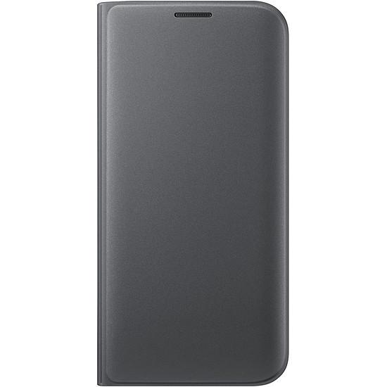 Coque et housse Samsung Etui Wallet Cover (noir) - Samsung Galaxy S7 Edge