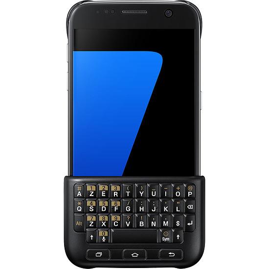 Coque et housse Samsung Coque Keyboard Cover (noir) - Galaxy S7 Edge