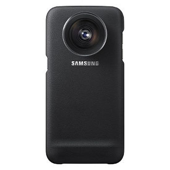 Coque et housse Samsung Coque Lens Cover (noir) - Samsung Galaxy S7 Edge