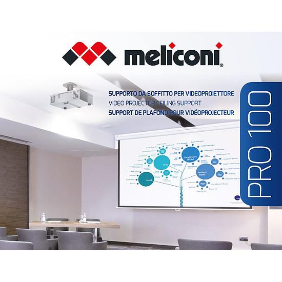 Support vidéoprojecteur Meliconi PRO-100 Blanc - Autre vue