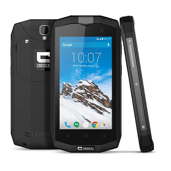 Smartphone et téléphone mobile Crosscall Trekker M1 (noir)