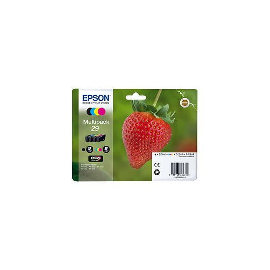Cartouche imprimante Epson Multipack Fraise C/M/J/N - C13T29864010