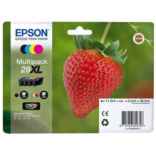 Cartouche imprimante Epson Multipack Fraise XL C/M/J/N - C13T29964012