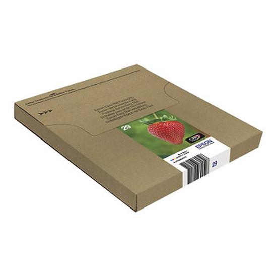 Cartouche imprimante Epson Easymail multipack Fraise C/M/J/N - 29
