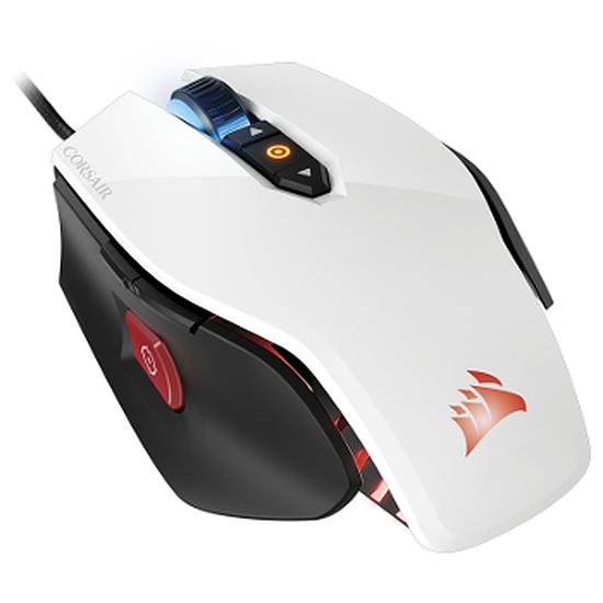 Souris PC Corsair Gaming M65 RGB - Blanc