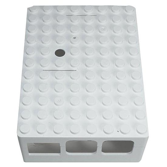 Raspberry Pi multicomp PI-BLOX - boitier Raspberry Pi 3/2 (BLANC) - Autre vue