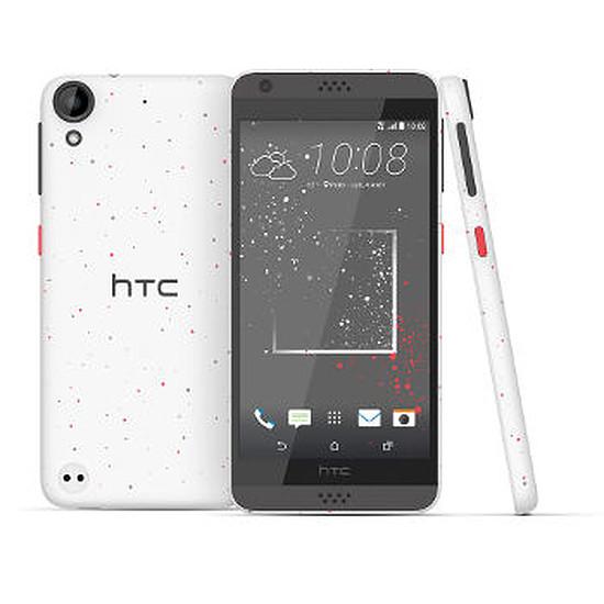 Smartphone et téléphone mobile HTC Desire 530 (remix blanc-corail)