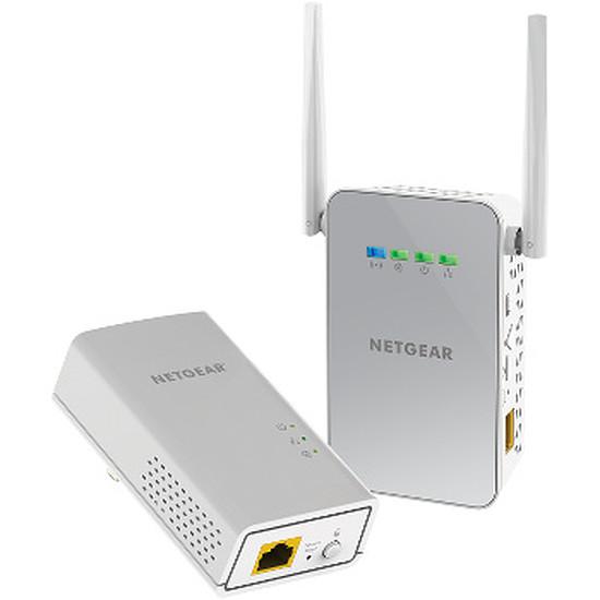 CPL Netgear PLW1000 - Pack de 2 CPL 1000 + Wifi