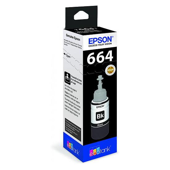 Cartouche imprimante Epson 664 Bouteille d'encre noire EcoTank C13T664140